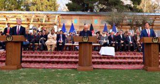 """Afghanistan, accordo tra talebani e Usa: via le truppe entro 14 mesi. Pompeo: """"Mantengano la promessa di una rottura con al Qaida"""""""