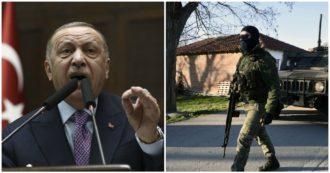 """Siria, intesa Russia-Turchia. Erdogan: """"Ingestibile nuova ondata di profughi"""". E al confine gli agenti greci ne respingono 4mila"""