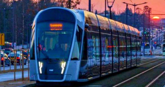 Lussemburgo, gratis i trasporti pubblici per ridurre l'inquinamento climatico
