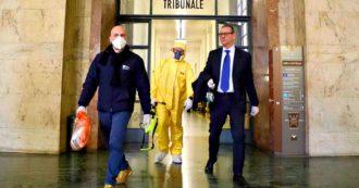 Coronavirus, due giudici di Milano contagiati. Udienze civili non urgenti rinviate. Gli avvocati protestano e proclamano sciopero
