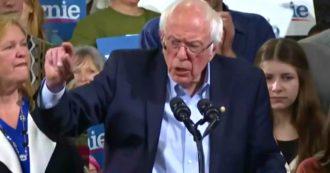 """Usa 2020, Sanders: """"Noi i migliori per battere Trump"""". Poi la stoccata agli altri candidati: """"Centinaia di milioni di dollari per la campagna"""""""