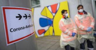"""Coronavirus, nuovo record in Francia: +32.427 casi in 24 ore. Altri 7.830 contagi in Germania. Merkel: """"State a casa"""""""