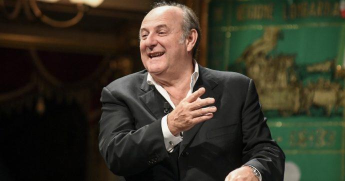 """Striscia la Notizia, Gerry Scotti si sente male. Francesca Manzini: """"Hai un crampo al testicolo?"""""""