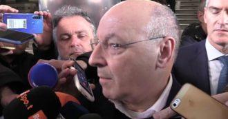 """Coronavirus, Marotta: """"Porte chiuse unica via per finire il campionato di Serie A. Juve-Inter? Si potrebbe giocare domenica o lunedì"""""""