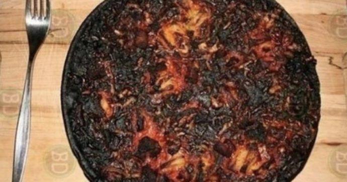 """Coronavirus, l'immagine della pizza bruciata """"Notre-Dame"""": il deputato leghista riapre la polemica con i francesi (che si erano già scusati)"""