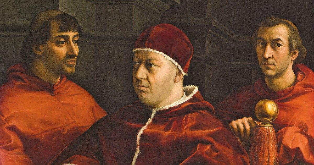 """Sostiene Raffaello: """"Roma, il cadavere di una nobile patria"""""""