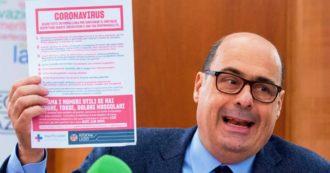 Coronavirus, Zingaretti positivo: ricostruzione degli incontri negli ultimi giorni. I ministri, i medici, i giornalisti e gli eventi pubblici