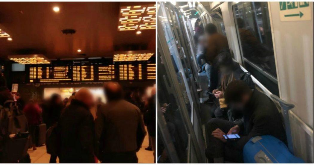 """Coronavirus, nella notte presi d'assalto i treni nelle stazioni di Milano. """"In molti senza biglietto, disposti a pagare la multa pur di partire"""""""