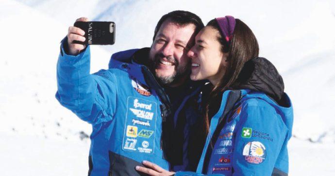 """Francesca Verdini, la fidanzata di Matteo Salvini racconta: """"Un uomo mi urlava contro, sono scappata. Ho avuto paura, questo mondo vuoto inizia a terrorizzarmi"""""""