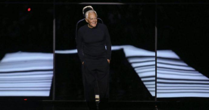 """Giorgio Armani, la lettera al mondo della moda: """"Io non voglio più lavorare così, è immorale. È tempo di togliere il superfluo e ridefinire i tempi"""""""