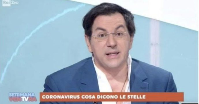 """Coronavirus, RaiDue nella bufera: l'astrologo da Simona Ventura spiega """"cosa dicono le stelle"""". Laganà: """"Basta con questa cialtroneria"""""""