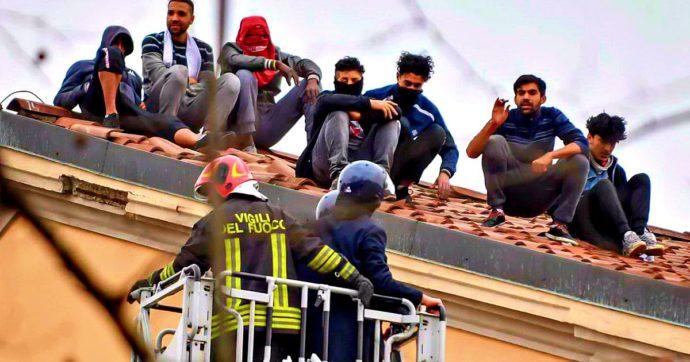 Coronavirus, aggiunto e pm sulla gru per trattare con i detenuti di San Vittore assiepati sul tetto
