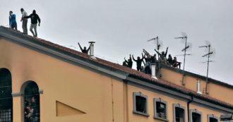 Coronavirus, rivolta al carcere di San Vittore: fumo e grida dall'interno del penitenziario. Detenuti salgono sul tetto