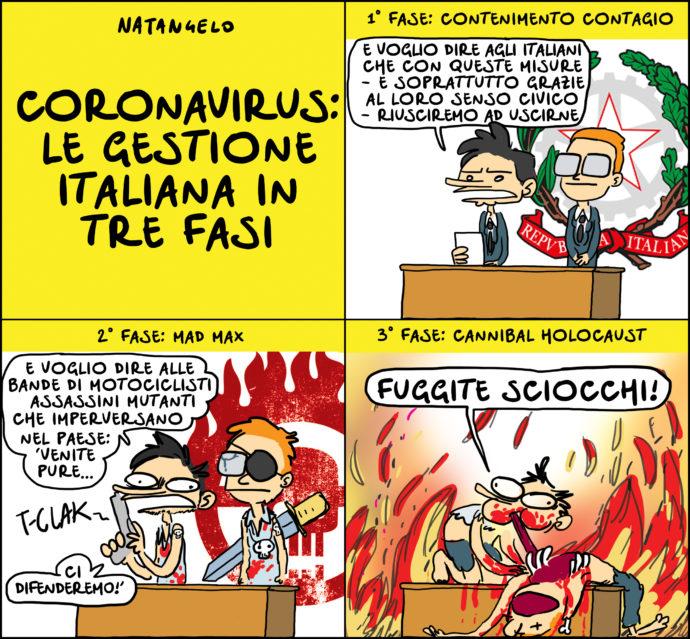 La gestione italiana del contagio