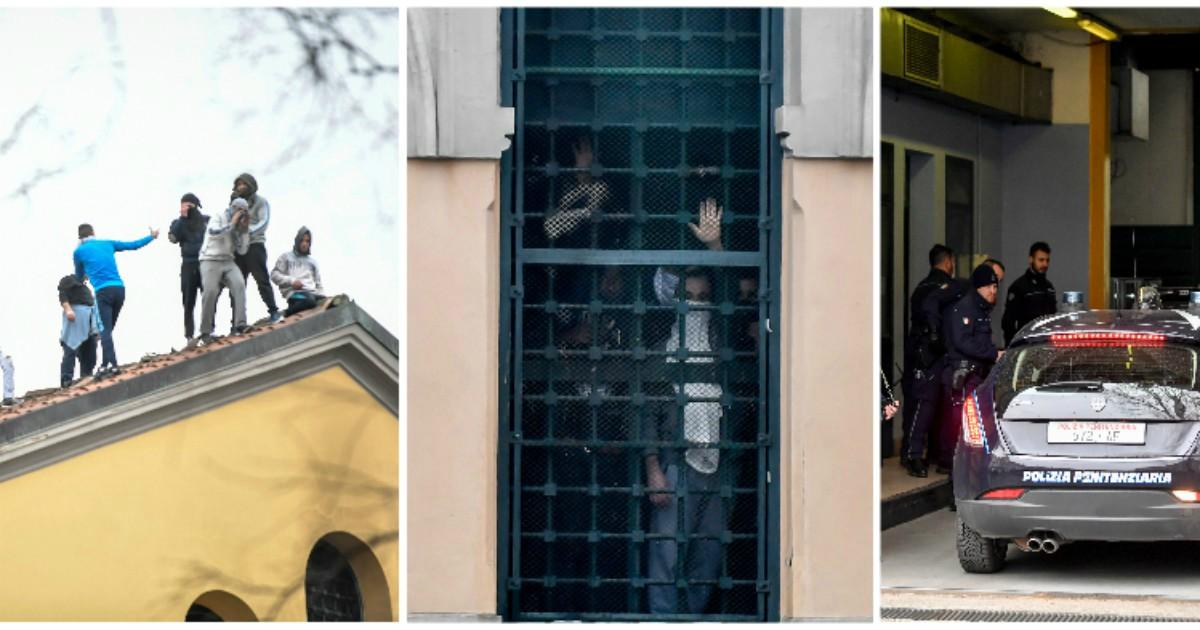 Coronavirus, carceri in rivolta, altri 3 detenuti morti a Rieti. Nuove proteste a Siracusa e Caserta, a Milano salgono sui tetti. A Foggia evasione di massa: 23 ancora ricercati