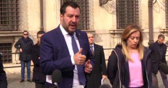 """Coronavirus, Salvini con Meloni e Tajani: """"A Conte abbiamo chiesto di chiudere tutto. Ci è stato detto di no"""""""