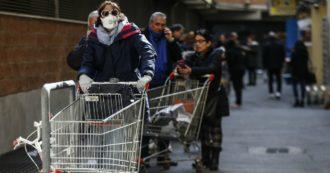 """Coronavirus, Protezione civile: """"Non assaltate i supermercati. La catena alimentare non sarà interrotta e i centri saranno sempre riforniti"""""""