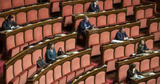 Coronavirus, Palazzo Madama è semivuoto: in Aula al massimo 6 senatori per gruppo. Ingressi contingentati per la prima volta nella storia