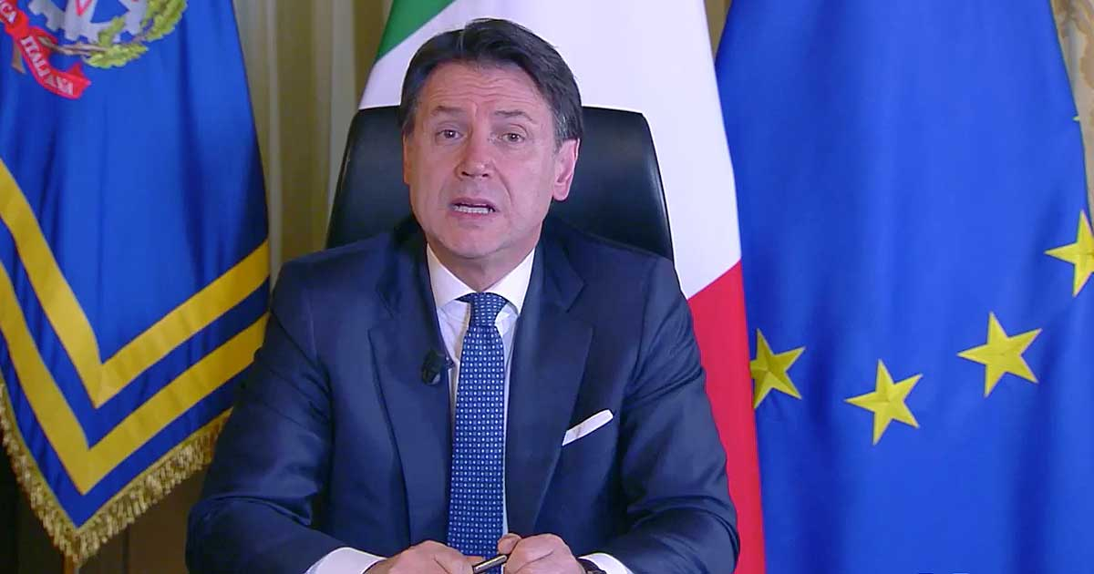 """Coronavirus, la diretta – Conte annuncia la serrata in Italia: """"Chiudiamo tutte le attività commerciali tranne farmacie e supermercati"""""""