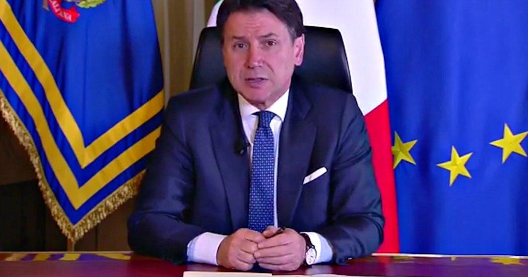 """Coronavirus, Conte annuncia la serrata: """"Chiudiamo attività commerciali in tutta Italia"""". Garantite farmacie, alimentari e tutti i servizi essenziali. """"E' il momento di uno sforzo in più"""""""
