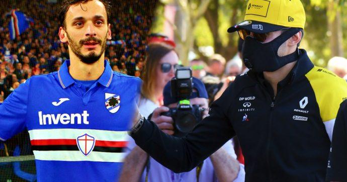 Coronavirus, il contagio nello sport: positivo Gabbiadini (Sampdoria), tre casi nel Leicester. Anche la F1 si arrende: Gran Premio annullato