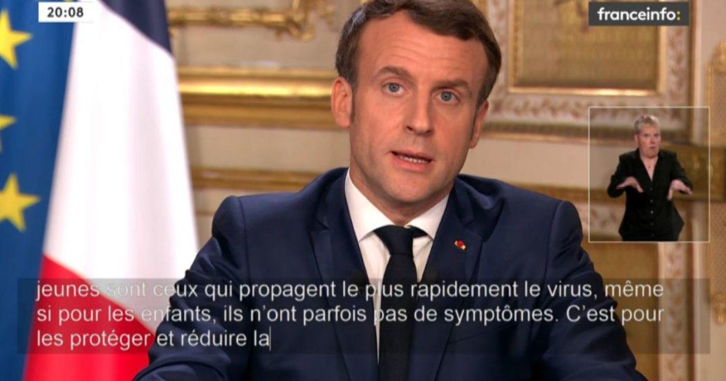 Coronavirus, in Francia Macron chiude scuole e università da lunedì. Ma non sospende le elezioni amministrative del weekend