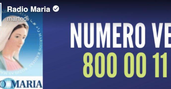 """Coronavirus, Radio Maria: """"A causa dell'emergenza molti ascoltatori non possono andare a pagare il bollettino, ecco cosa fare"""". Scoppia la polemica in rete"""