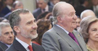 Spagna, re Felipe toglie la pensione al padre Juan Carlos e rinuncia alla sua eredità