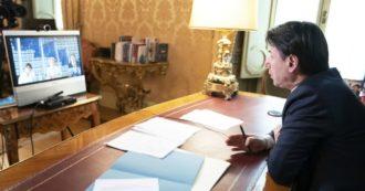 """Conte replica a Renzi: """"Sorpreso che un ex premier parli male del governo all'estero. Capi di Stato ammirano il nostro coraggio"""""""