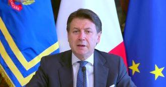 """Coronavirus, Conte: """"Lo Stato c'è, misure lo dimostrano. La nostra è una manovra economica poderosa. L'Europa segua il 'modello Italia'"""""""