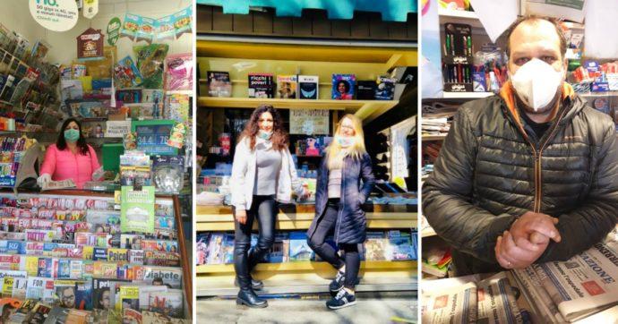 """Coronavirus, gli edicolanti che resistono da Lodi a Brindisi: """"Portiamo il giornale a chi ha paura di uscire"""""""
