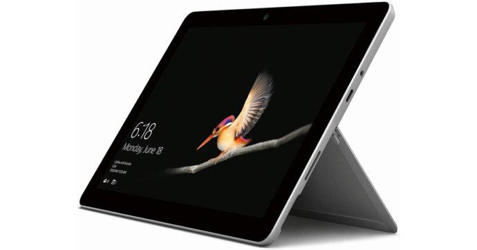 Microsoft Surface Go, tablet da 10 pollici con processore Intel Pentium scontato del 23% su Amazon