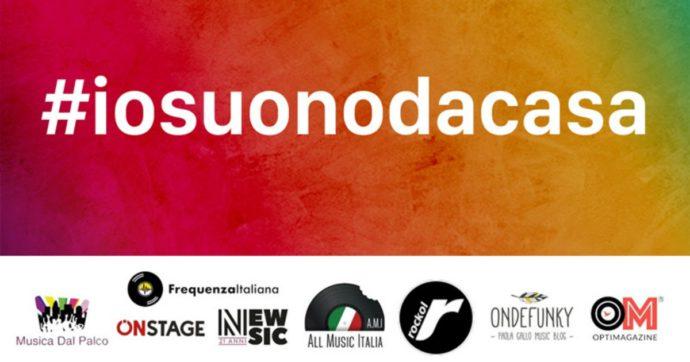 #iosuonodacasa, canti e fai del bene! Ecco l'iniziativa per promuovere i concerti 'casalinghi'