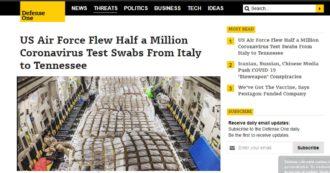 Coronavirus, dall'Italia un aiuto agli Usa: un'azienda di Brescia ha inviato mezzo milione di tamponi negli Stati Uniti