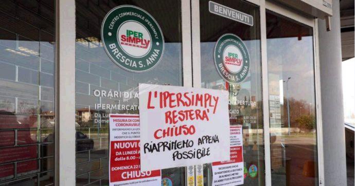 Coronavirus, muore una commessa a Brescia: chiuso il supermercato in cui lavorava