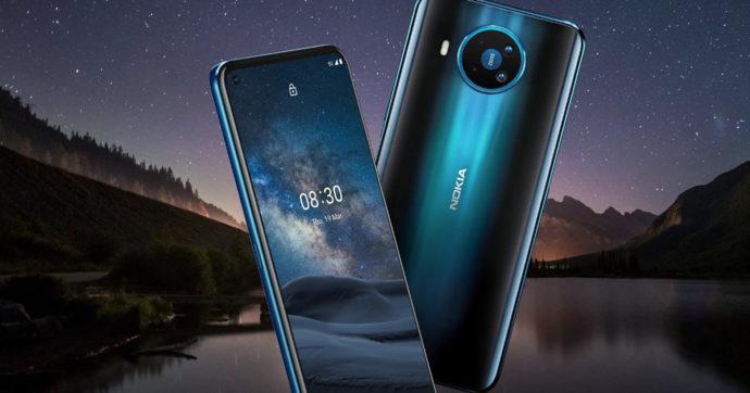 Nokia 8.3 5G, 5.3 e 1.3 ufficiali: foto, caratteristiche e prezzi