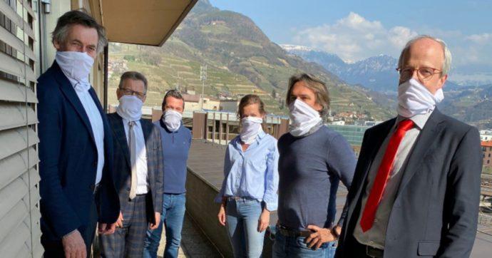 """Coronavirus, tra dubbi su idoneità mascherine e scaldacollo di famiglia: Provincia di Bolzano sotto accusa. M5s: """"Popolazione preoccupata"""""""