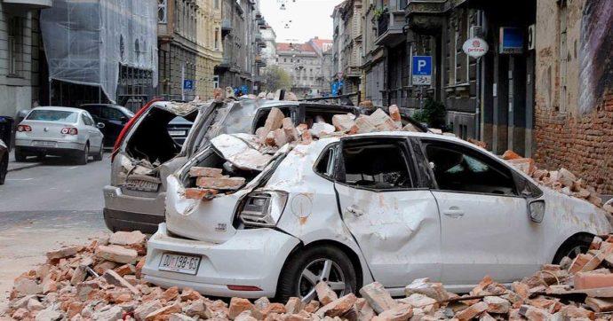 Terremoto Croazia, due scosse di magnitudo 5.4 e 4.6 hanno colpito la capitale Zagabria: gravi danni agli edifici e persone in strada