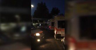 """Coronavirus, il video dell'operatore del 118 al Gemelli di Roma: """"L'ospedale è pieno, pazienti bloccati in isolamento sulle ambulanze"""""""