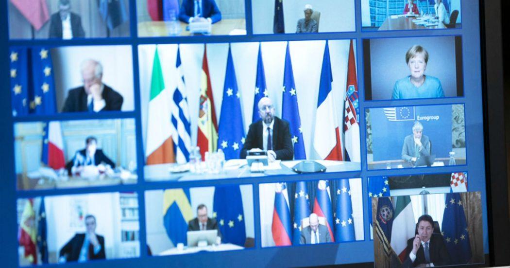 """Ue, Sassoli: """"Dai leader ci aspettiamo più responsabilità. No a miopia ed egoismo di alcuni governi"""". Di Maio: """"Non ci servono le belle parole"""""""