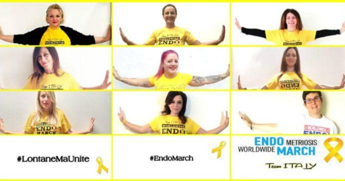 Endometriosi, mettetevi qualcosa di giallo: la settima marcia mondiale si farà sui social