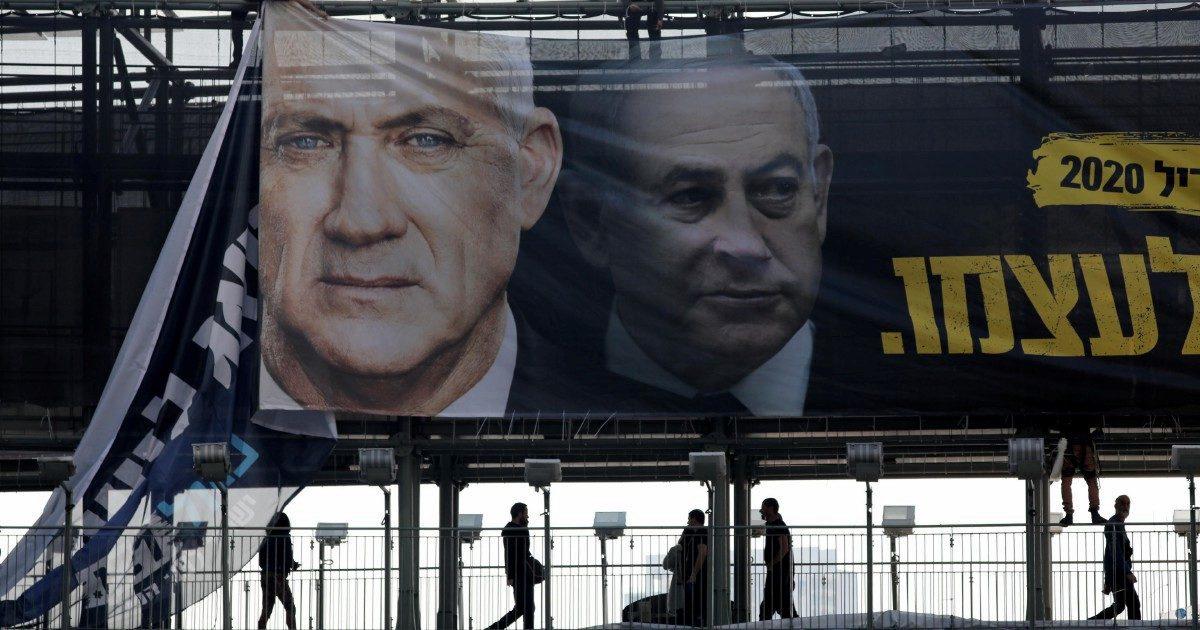 Knesset a Gantz e Bibi premier per diciotto mesi