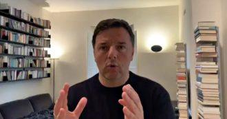 """Coronavirus, il video di Renzi dopo l'intervista del """"riapriamo tutto"""": """"Non si può restare chiusi 3 anni o 3 mesi"""". Ecco alcuni passaggi"""