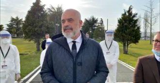 """Coronavirus, 30 medici da Tirana, il video del premier albanese: """"Non siamo senza memoria, Italia ci ha salvato e accolto. E' casa nostra"""""""