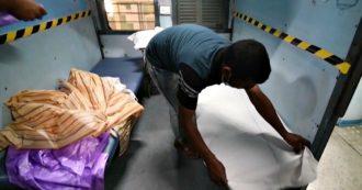 Coronavirus, in India treni trasformati in reparti di isolamento. Anche uno stadio convertito in un centro di quarantena