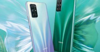 Honor 30S ufficiale, foto e caratteristiche del nuovo smartphone di fascia media