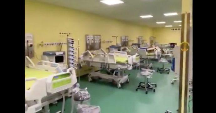 """Fedez: """"Buone notizie! Domani il secondo reparto di terapia intensiva sarà operativo: dieci letti in più"""""""
