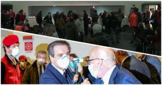 """Coronavirus, """"quello è un assembramento"""": polemiche per l'inaugurazione dell'ospedale in Fiera organizzata dalla Regione Lombardia"""