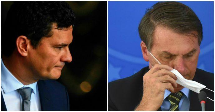 """Coronavirus, in Brasile Moro guida il fronte anti-Bolsonaro nel governo. Il presidente: """"In Italia suicidi per sensazionalismo dei media"""""""