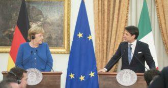 """Coronavirus, Conte ai tedeschi: """"Io e Merkel abbiamo visioni diverse. Ma in Ue scriviamo la storia, non manuale di economia. L'Europa sia coesa o non sarà competitiva nel mondo"""""""